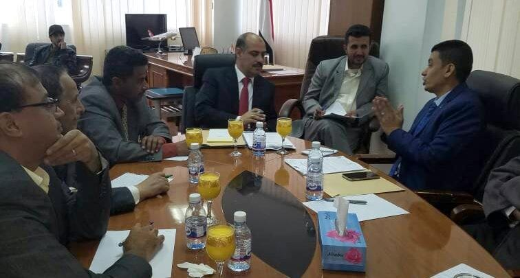 Photo of صور اجتماع الوزير مع مؤسسة البحر الاحمر في الاحد 7-1-2018