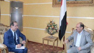 Photo of وزير النقل يلتقيمدير البرنامج القطري للأمم المتحدة للمستوطنات البشرية (الموائل)