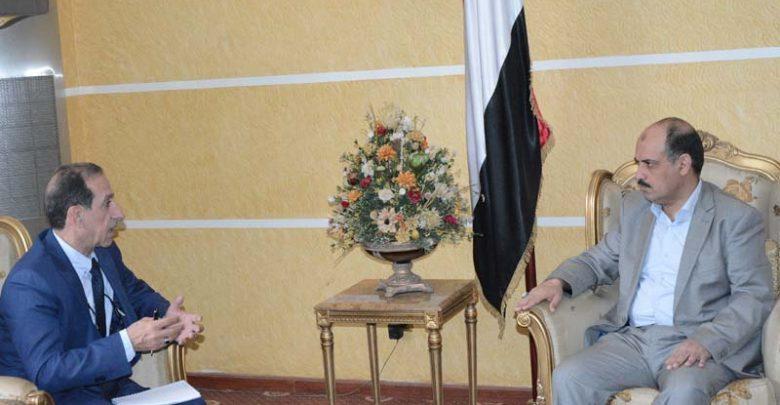 Photo of وزير النقل ـ يلتقي مدير البرنامج القطري للأمم المتحدة للمستوطنات البشرية 20- 04 -2019م