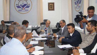 Photo of الأجتماع النصف السنوي مع قيادات النقل البري 16-06-2019م