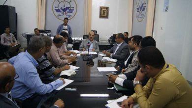 Photo of وزير النقل مناقشة آليات تنفيذ الرؤية الوطنية لبناء الدولية اليمنية الحديثة في قطاع النقل البري 16-06-2019م