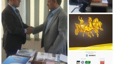 Photo of وزير النقل يتلقى رسالة من رئيسة التكتل العالمي لمشاريع بريكس