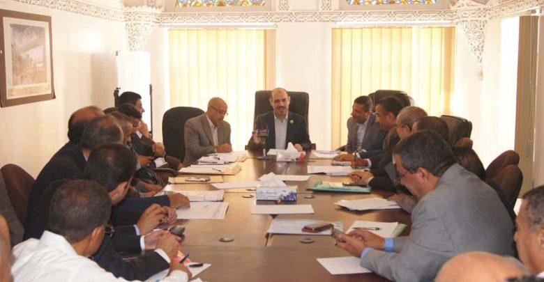 Photo of إجتماع يناقش خطط وزارة النقل وقطاعاتها للمرحلة الأولى للرؤية الوطنية. 24-07-2019م
