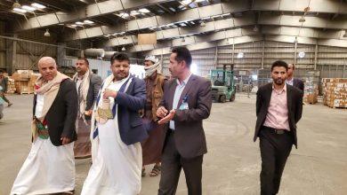 Photo of عضو المجلس السياسي الأعلى محمد علي الحوثي يتفقد سير العمل بمطار صنعاء الدولي 21-08-2019م
