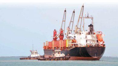 Photo of 13 سفينة تجارية محتجزة حاليا من قبل العدوان 8 سفن منها نفطية