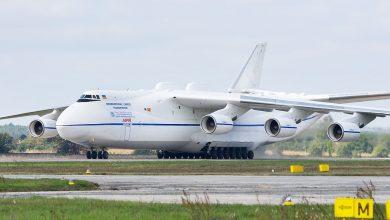 "Photo of أثقل طائرة نقل في العالم الأنتونوف 225-AN"""