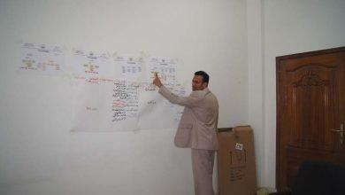 Photo of إدارة التدريب تقيم دورة تعريفية حول الهيكل الإداري ومهامة ومعرفة المشاكل والحلول