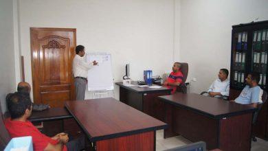 Photo of إقامة دورة في التنسيق والمتابعة لموظفي الإدارة العامة للمتابعة