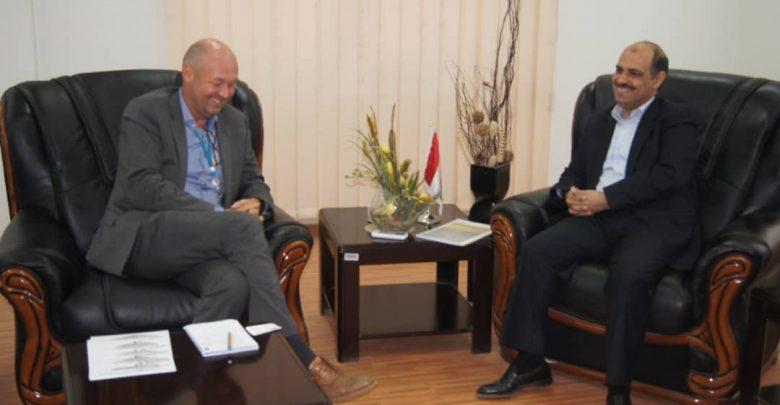 Photo of وزير النقل يلتقي الممثل المقيم للبرنامج الإنمائي للأمم المتحدة