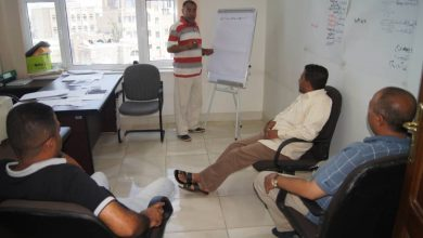 Photo of إدارة التدريب والتأهيل تقيم دورة لليوم الثاني حول  البيئة المناسبة