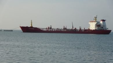 Photo of السفينة (NAVARINO) ترسوا على ارصفة ميناء الحديدة