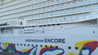 Photo of تسع 4 آلاف مسافر: «إنكور» أضخم سفينة لـ«نرويجين كروز» NORWEGIAN ENCORE تظهر من مدينة بريمرهافن الألمانية