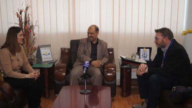 Photo of وزير النقل يلتقي مسؤول الشؤون السياسية للفريق الأممي 20-11-2019م