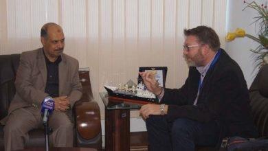 Photo of وزير النقل يلتقي مسؤولة الشؤون السياسية للفريق الأممي20-11-2019