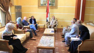 Photo of مقبولي يلتقي الممثل المقيم للبرنامج الإنمائي للأمم المتحدة لدى اليمن
