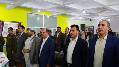 Photo of عضو السياسي الأعلى الحوثي يفتتح مجمع شعوب الطبي لرعاية الجرحى