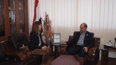 Photo of وزير النقل يلتقي مسؤولة الشؤون السياسية لبعثة الأمم المتحدة 08-01-2020