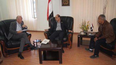 Photo of وزير النقل يناقش مع ممثل البرنامج الإنمائي آلية تأهيل وتطوير ميناء الحديدة
