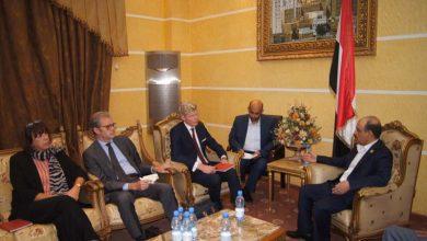 Photo of وزير النقل يلتقي سفير الاتحاد الأوروبي وسفيري فرنسا وهولندا لدى اليمن