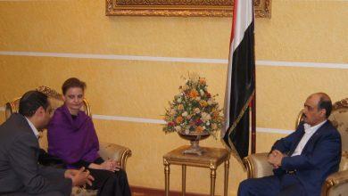 Photo of وزير النقل يلتقي نائب رئيس بعثة الأمم المتحدة لدعم اتفاق الحديدة