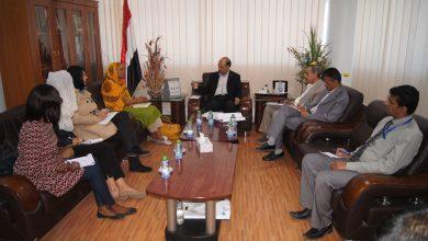 Photo of لقاء يناقش المصفوفة التنفيذية لإعادة تأهيل ميناء الحديدة