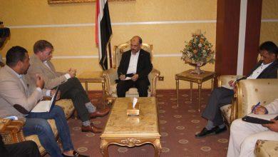 Photo of وزير النقل يلتقي رئيس دعم بعثة الامم المتحدة 24-2-2020