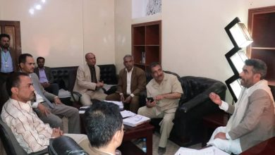Photo of مناقشة الصعوبات التي تواجه فرع هيئة تنظيم شؤون النقل بمحافظة صنعاء