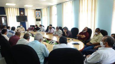 Photo of مناقشة جوانب تعزيز التدابير الوقائية لمواجهة كورونا في موانئ الحديدة