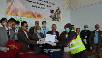 Photo of هيئة الطيران المدني تكرم موظفي الإطفاء بمطار صنعاء الدولي