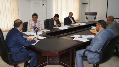 Photo of اجتماع برئاسة وزير النقل لتقييم أداء الوحدة التنفيذية للرؤية الوطنية بالوزارة 19-7-2020