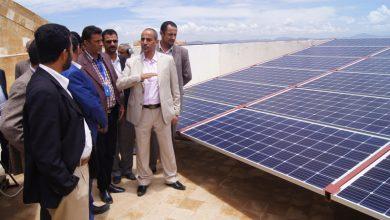 Photo of هيئة تنظيم شؤون النقل البري تدشن العمل بمنظومة الطاقة المتجددة ضمن مشاريع الرؤية الوطنية للعام 2020.