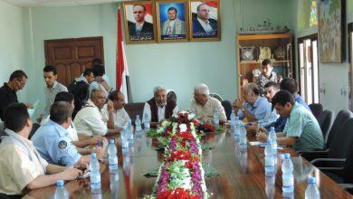 Photo of لقاء برئاسة النائب العام لمناقشة رفع الدعاوي بشأن استهداف موانئ الحديدة